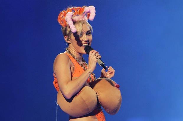 Miley Cyrus Performs Live In Sydney