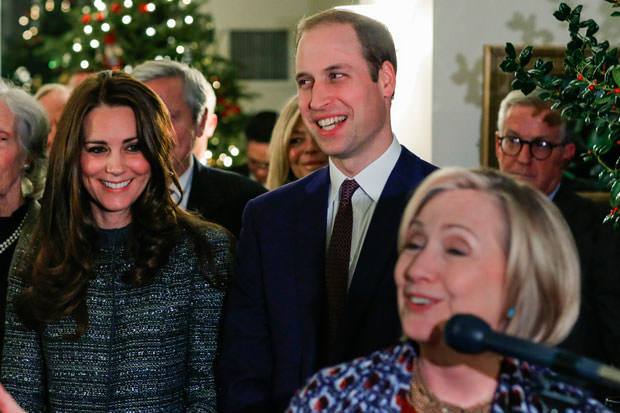 The Duke Of Cambridge Attends The Conservation Reception
