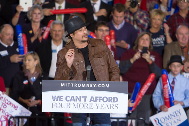 Congressman Paul Ryan Rally With Kid Rock