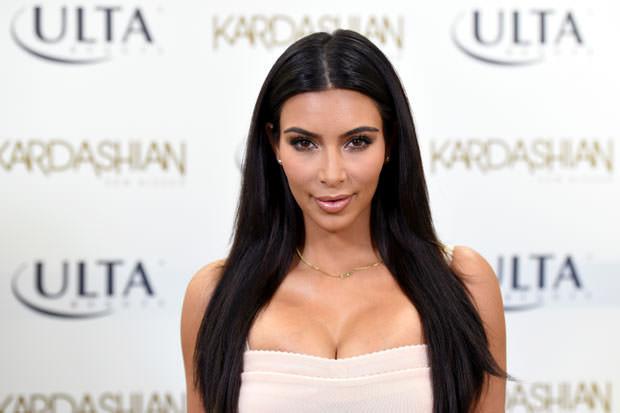 Kim Kardashian Promotes Kardashian Sun Kissed At ULTA Beauty In Los Angeles