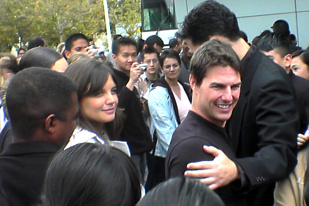 Happy times., Tom Cruise and Katie Holmes.